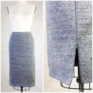 H&M Ponte Scuba Knit Pencil Skirt
